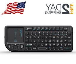 Rii Mini Wireless 2.4GHz Keyboard with Mouse Touchpad USB Do