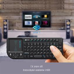 Rii X1 Israel Hebrew Wireless Mini Keyboard with Touchpad fo
