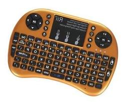 Rii i8+ 2.4GHz Mini Wireless Keyboard with Touchpad Mouse, L