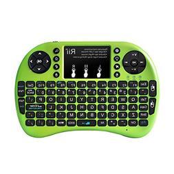 Rii i8+ Bluetooth Mini Wireless Keyboard with Touchpad Mouse