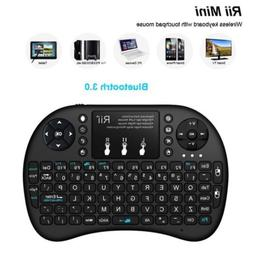 Rii i8+ Mini Wireless Bluetooth Backlight Touchpad Keyboard