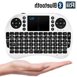 Rii i8BT Wireless Bluethooth Mini Keyboard Mouse Touchpad Ta