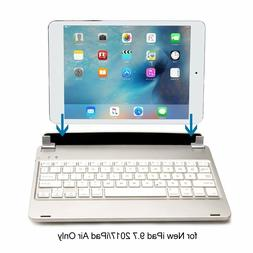 Top New F17 Wireless bluetooth Keyboard Folio Case with Stan