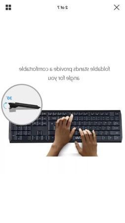 UHURU 2.4GHz Wireless Keyboard and Mouse