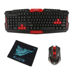 Waterproof USB 2.4GHz Wireless Mouse and Keyboard Set for HP