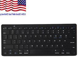Wireless Bluetooth Keyboard Slim For Android Windows iOS Tab