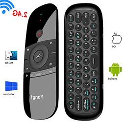 TV Remote Air Mouse,Yongf 2.4Ghz Wireless Android Remote Sma