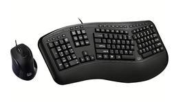 Adesso AKB-131HB Desktop Multimedia USB keyboard with 2 USB