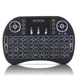 OEM Computer Keyboards AOKVIE Mini 2.4Ghz Backlit Wireless T