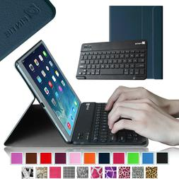 For Apple iPad Slim Leather Case Cover Removable Wireless Bl