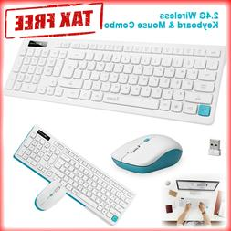 Apple Wireless Keyboard and Mouse Combo Set 2.4G For Mac Pc