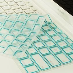 aqua silicone keyboard cover skin