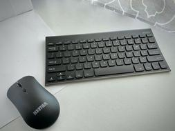 Arteck 2.4G Wireless Keyboard and Mouse Combo Ultra Compact