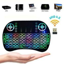 Backlight 2.4G Mini Wireless Keyboard Mouse Touchpad For And