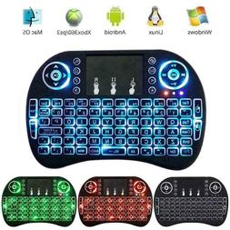 Backlight Mini Wireless Keyboard 2.4GHz Remote Control Touch