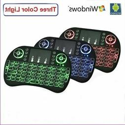 Backlight Mini i8 Wireless 2.4GHz Keyboard Remote Control To