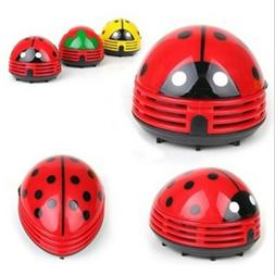 Battery cartoon beetle vacuum cleaner handheld mini ladybug