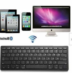 "Black Wireless Bluetooth Keyboard Keypad For 9"" 10"" 10.1"" Ta"