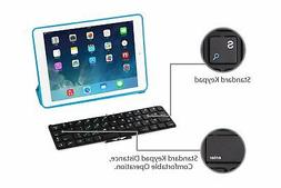 Ukonnect Bluetooth Foldable Keyboard for iPhone, Samsung, Ht