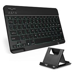 Vive Comb Bluetooth Keyboard, 7-Colors Backlit Universe Comp