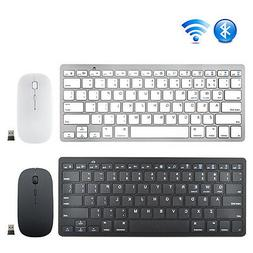 Bluetooth Keyboard and Wireless 2.4G Mouse  Combo for PC Win