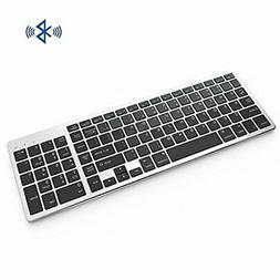 bluetooth keyboard comb rechargeable portable bt wireless