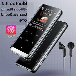 bluetooth mp3 mp4 music player touch screen