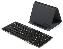 Plugable Bluetooth Full-Size Folding Keyboard and Case for A
