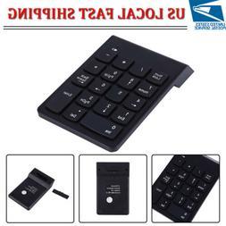 Bluetooth Wireless 18 Keys Number Pad Numeric Keypad Keyboar