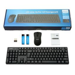 2.4G Business Wireless Keyboard Mouse Combo Set Kit For Mac