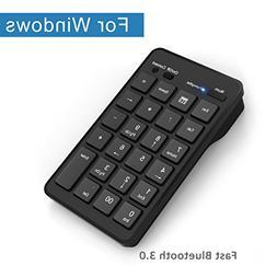 Bluetooth Wireless Keypad, Cateck Wireless 23 Keys Numeric k