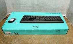 Brand New Logitech MK520 Advanced Wireless Keyboard and Wire