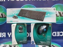BUNDLE - LOGITECH ACCESSORIES - WIRELESS KEYBOARD/ MOUSE - W