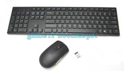 CCXCV Dell Wireless English Keyboard And Mouse W/Dongle Kit
