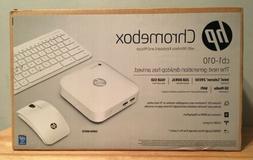 HP Chromebox PC Desktop cb1-010 Snow White With Wireless Key