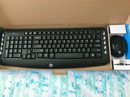 HP - Classic Desktop - Combo Wireless Keyboard and Optical M