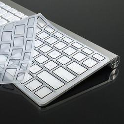 """CLEAR Silicone Keyboard Cover Skin for New Mcbook pro 15"""" wi"""