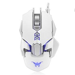 Waymine CW50 Wired Optical Gaming Mouse 7 Buttons 3200DPI Tu