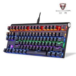 Cywulin Adjustable Colorful RGB Backlit Dual Mode Bluetooth