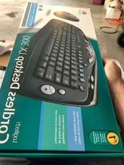 Logitech Desktop LX300 Keyboard and Mouse - New Old Stock Mi