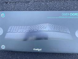 Logitech ERGO K860 Ergonomic Split Bluetooth/USB Keyboard Bl