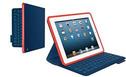 Logitech FabricSkin Keyboard Folio Mystic Blue for iPad 2 an