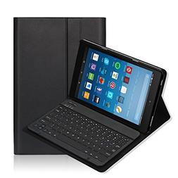 Fire HD 10 Keyboard Case iThrough® Wireless Bluetooth Keybo