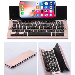 Foldable Bluetooth Wireless Keyboard For iPad/iphone Android