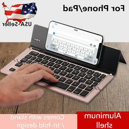 Foldable Keyboard Wireless Keypad with Touchpad Bluetooth 3.