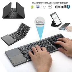 Portable Foldable keyboard wireless touchpad MINI Universal