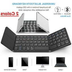 Foldable USB Bluetooth Keyboard With Touchpad Portable Mini