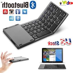 Foldable Windows Bluetooth3.0 Keyboard Wireless for iOS Andr