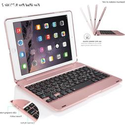 Foldable Wireless Bluetooth Keyboard Case Cover W/ Stand For