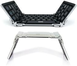 Folding Bluetooth Keyboard, Arteck Portable Mini Foldable Wi